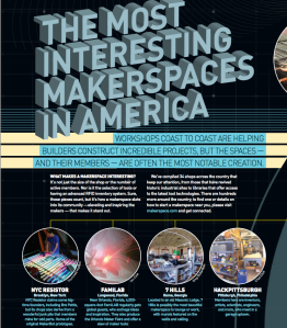 7hills Makerspace listed as most interesting makerspace by MAKE magazine
